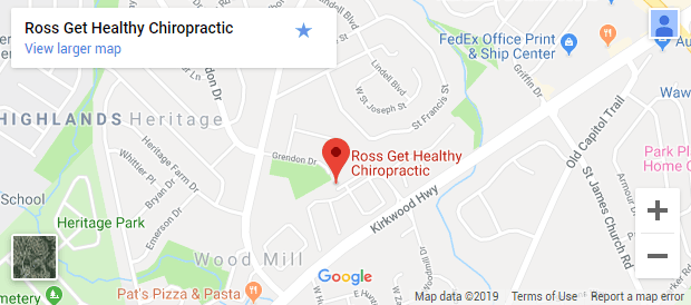 Chiropractic Wilmington DE Map